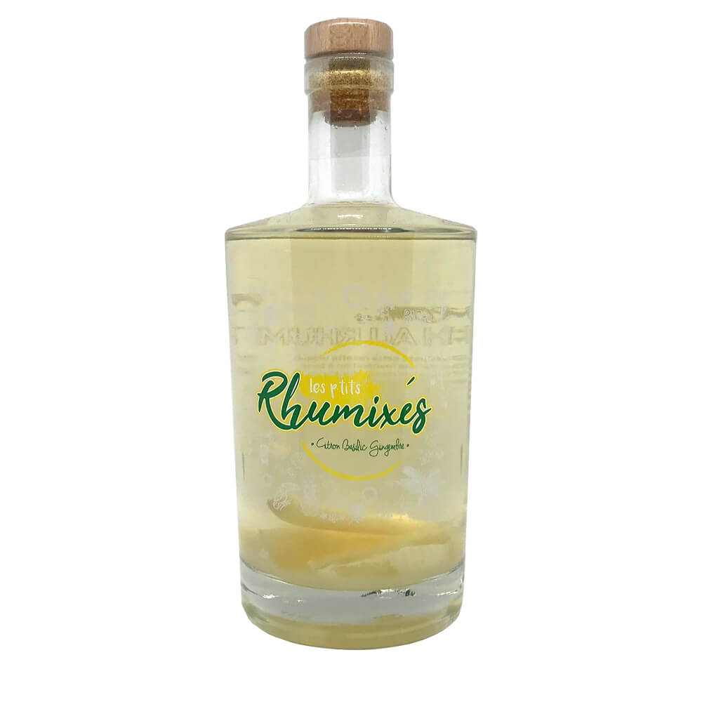 Rhum arrangé Gingembre Citron
